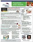 Fall Nutrition Newsletter 2016